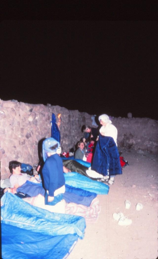 en Haut du Mont Sinaï