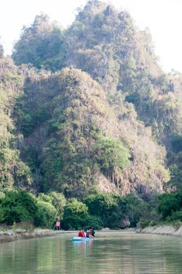 Près de Yathei Pyan caves