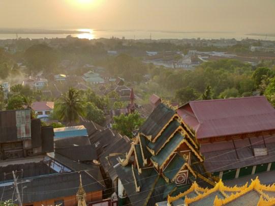 vue de la Kyaikthanlan pagoda