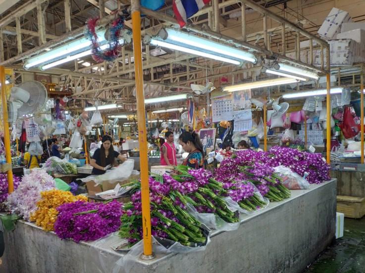 Marché aux fleurs, Chinatown