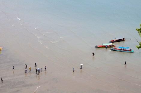 Laem Sala beach (bateaux vers Ban Bang Pu)
