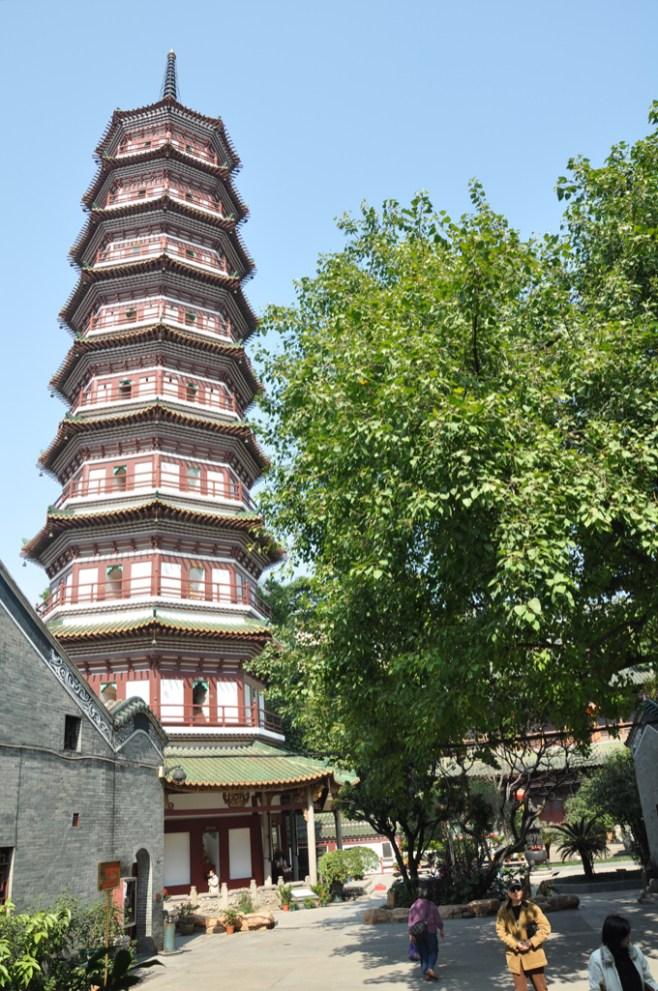 Canton, pagode des fleurs