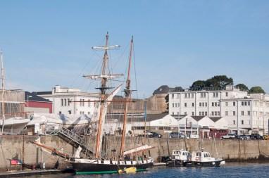Brest: port et le chateau
