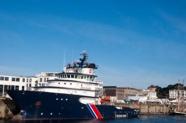 Brest: le port