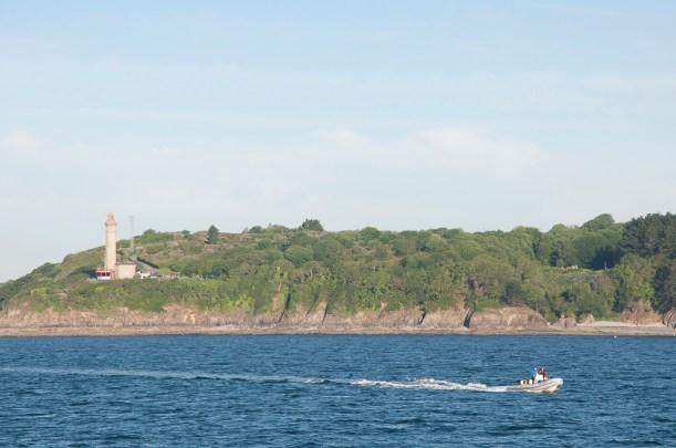 Brest: sortie de la rade