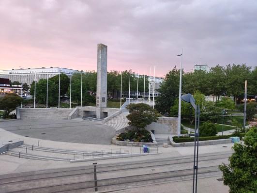 Brest vue de notre fenêtre