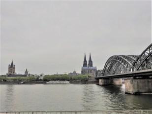 Cologne vue du centre