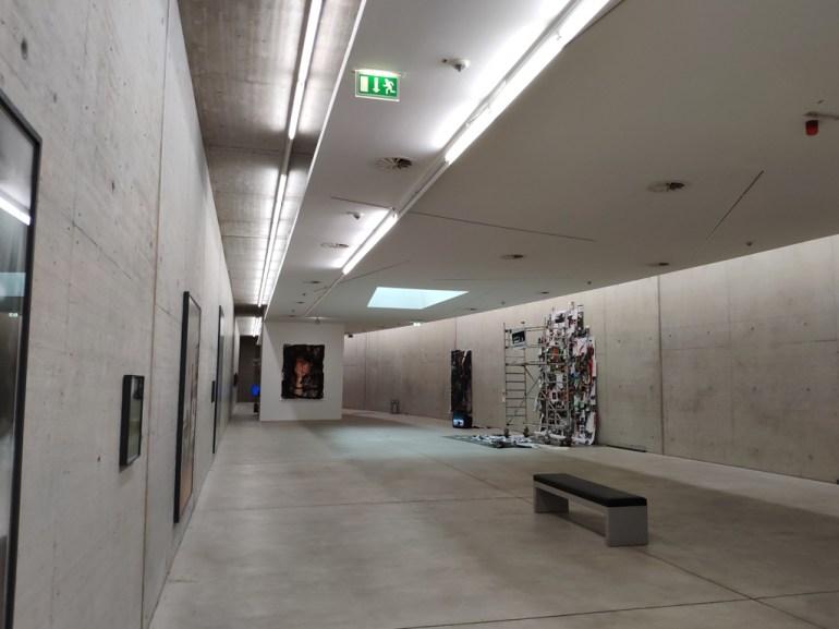 Dusseldorf KIT : musée dans un ancien tunnel