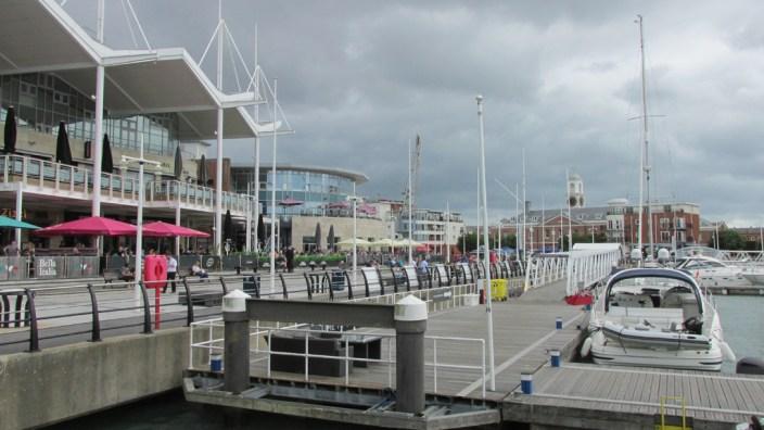 Portsmouth : les docks