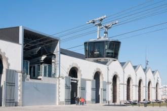 Brest: le téléférique reliant les capucins au bas de la rue de Siam