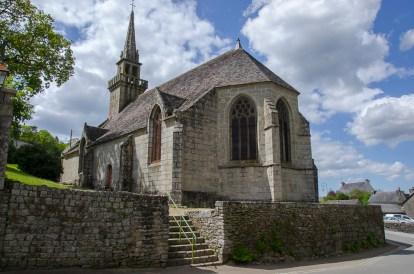 L'église de Huelgoat