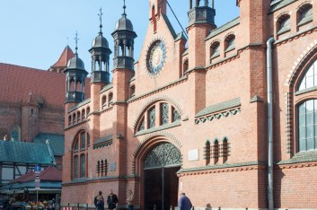 Gdansk: Les Halles