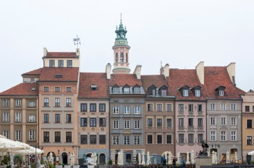 Varsovie place vieille ville