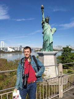 Tokyo Odaiba: réplique de la statue de la liberté