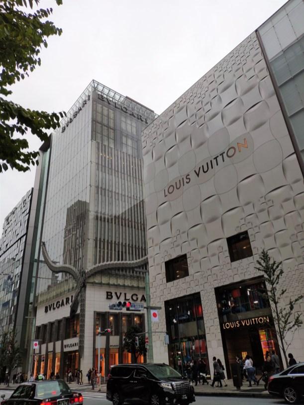 Tokyo: quartier de Ginza