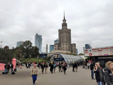Varsovie, le centre