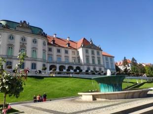 Varsovie le chateau
