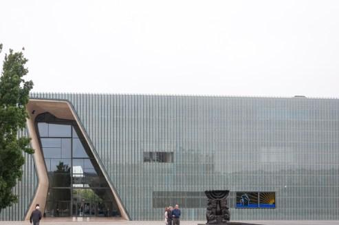 Varsovie Musée Polin (histoire des juifs)