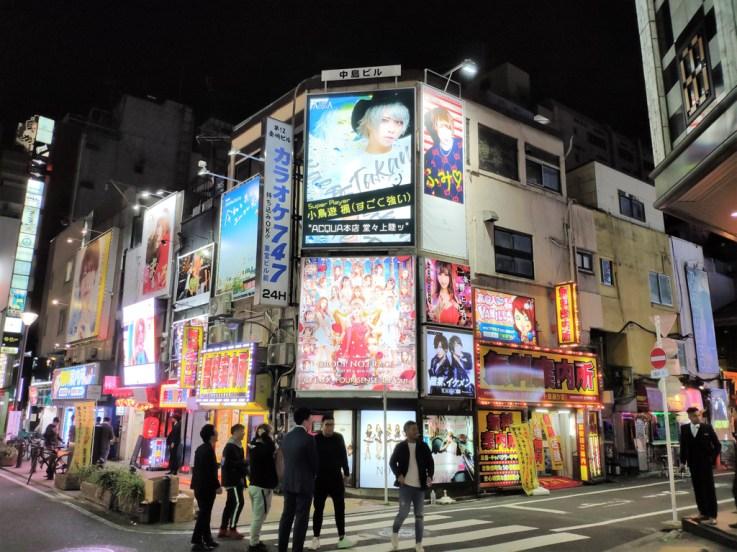 Tokyo shinjuku kabuki cho (le Pigalle local)