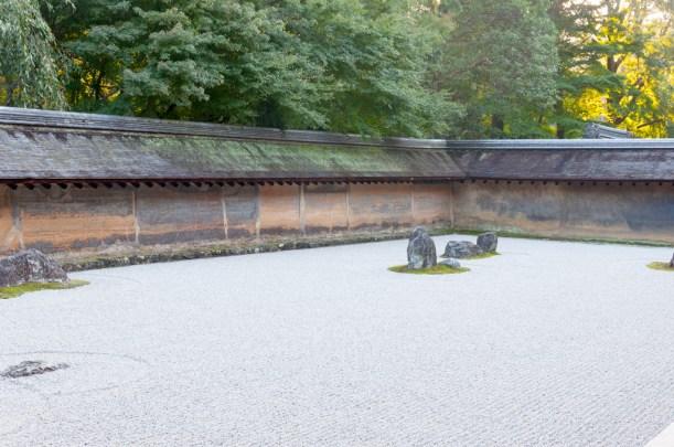 Kyoto Ryaon Ji temple : sable