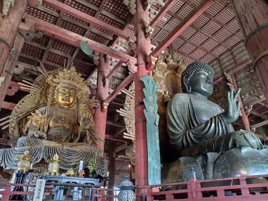 Nara: Totai Ji temple (intérieur)