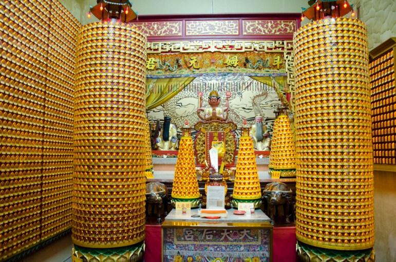 un des nombreux temples de Tainan