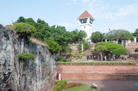 tainan zeelandia fort (fort hollandais) a anping