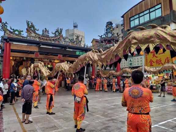 Tainan procession nocturne