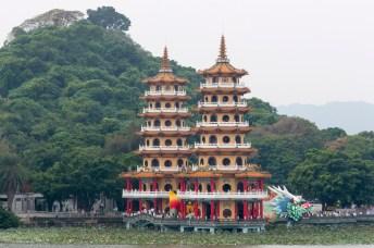 Kaohsiung: lotus pond