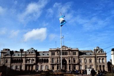 Buenos Aires: Casa rosada, le palais présidentiel