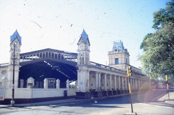 la gare d'Asuncion