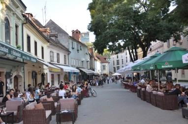 Zagreb, rue de la ville haute