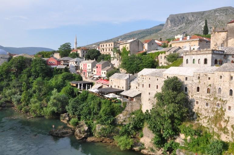 Bosnie: Mostar.