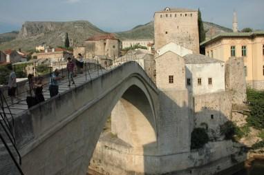 Bosnie: Mostar. Le fameux vieux pont