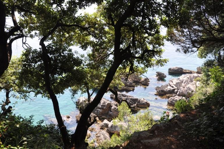 Dubrovnik: ile de Lokrum
