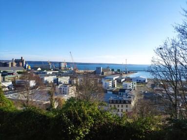 Brest le port , lieu de ma promenade journalière