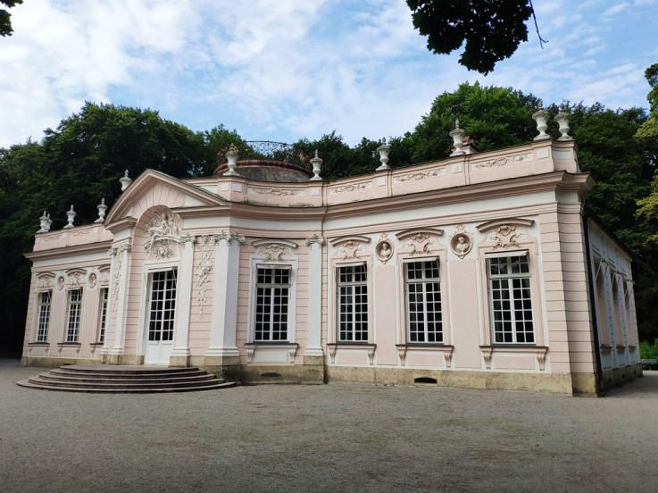 Munich chateau Nymphenburg (un des pavillons du parc)