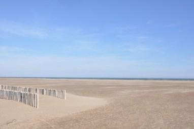 La plage de Gruissan