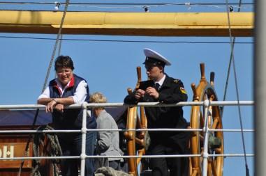 Sète: fêtas nautiques (navire russe)