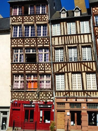 Rennes vieilles maisons