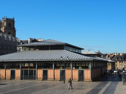 Rennes: les halles (place des Lices)