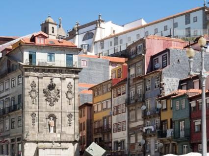Porto: placa da Ribeira