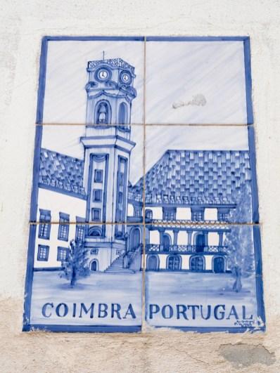 Coimbra: azulejos