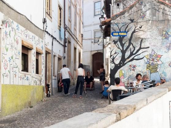 Coimbra:ruelles montant vers l'université