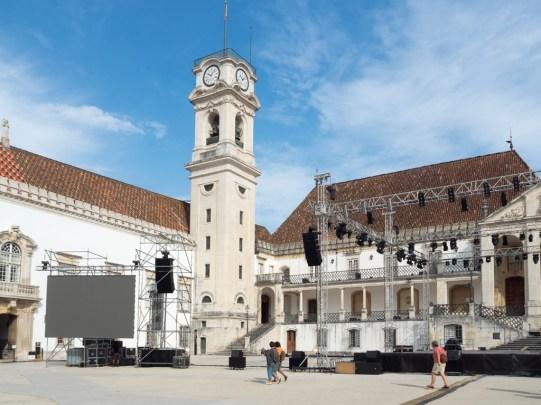 Coimbra: intérieur de l'université