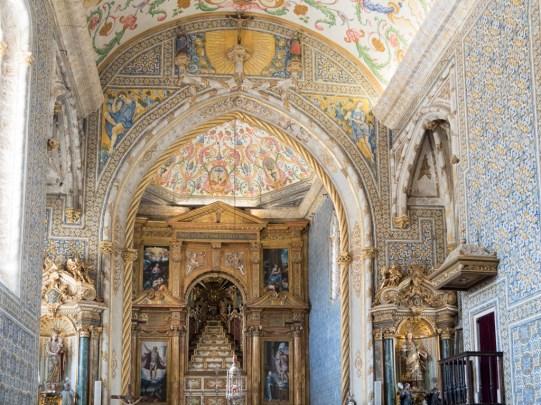 Coimbra: chapelle de l'université