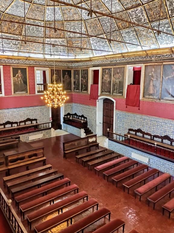 Coimbra Université salle de remise des diplomes