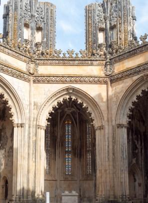 Batalha: Monastère (les chapelles inachevées)
