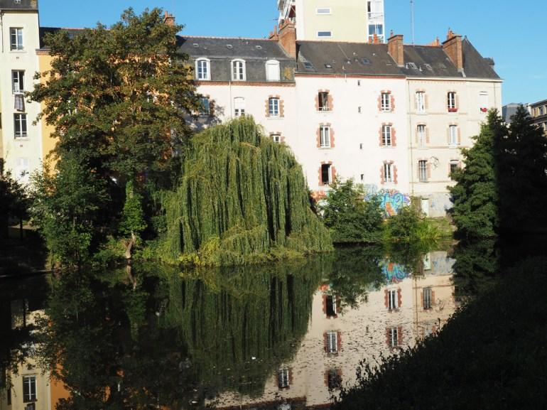 Rennes: le long de la Vilaine