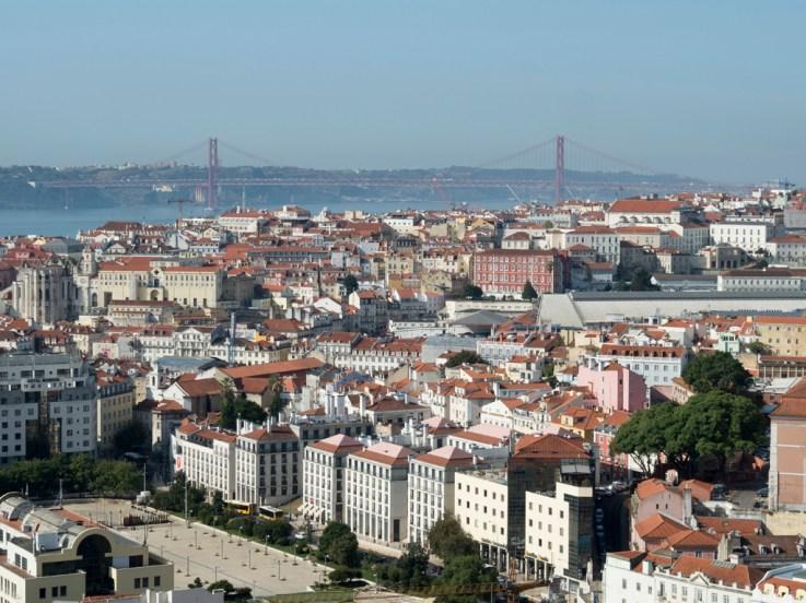 Lisbonne: Baixa place Martim Moritz